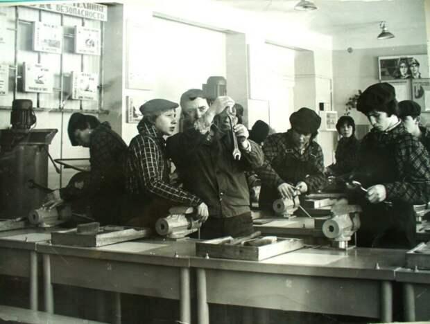 Занятия в ПТУ. /Фото: poshosse.ru