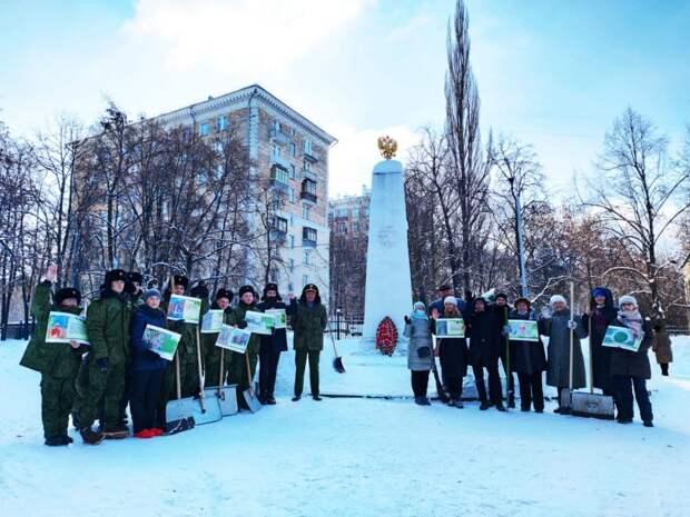 Жители Сокола почтили память павших в боях героев войны