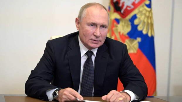 Путин на встрече с лидерами партий призвал снижать инфляцию