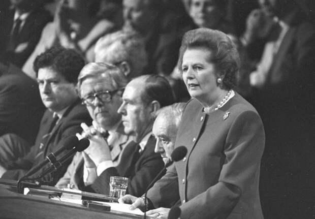 М.Тетчер опровергает тезисы либерастов о экономике СССР