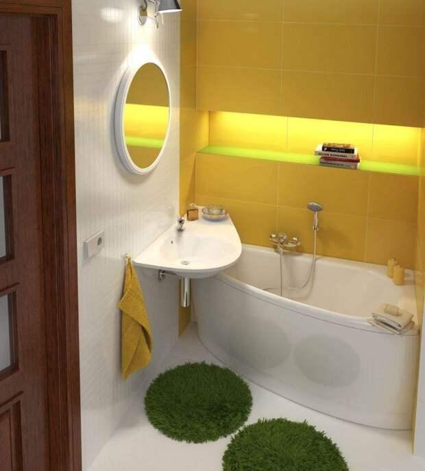 Дизайн ванной комнаты без туалета: современные идеи оформления (60 фото)