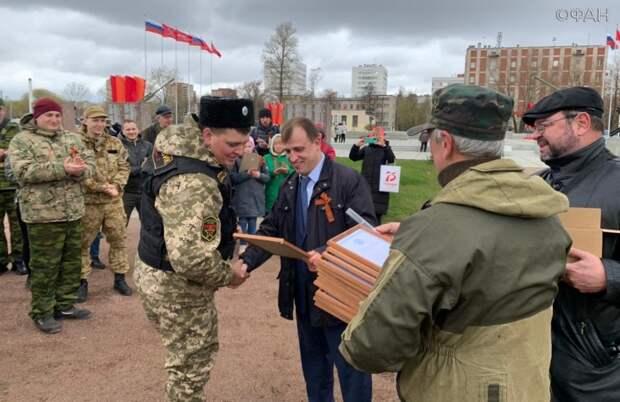 Депутат Вострецов напутствовал петербургских поисковиков в преддверии Дня Победы