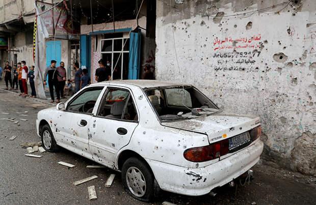 Израиль нанес ответный удар по сектору Газа. Сообщается о десятках раненых и погибших