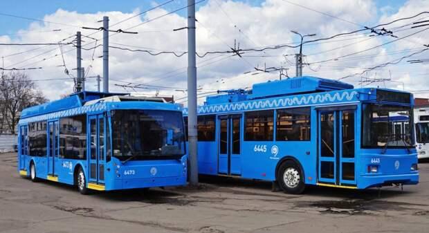 Неиспользуемые московские троллейбусы начали поступать в Ижевск