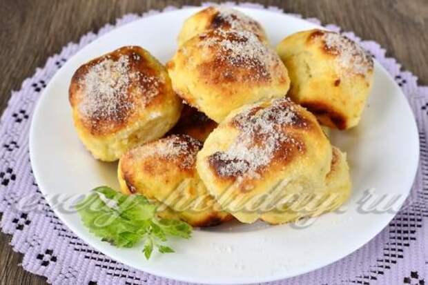 Творожные булочки как пух за 5 минут.