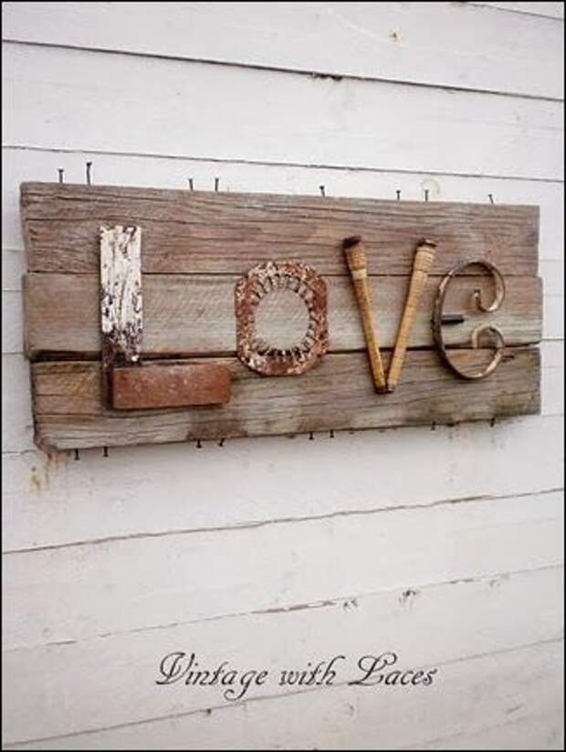 Я любовь слепила из  того, что было...