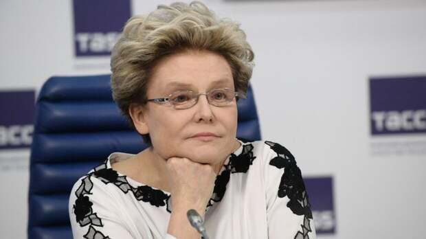 Елена Малышева напомнила полным пенсионерам о блокадниках