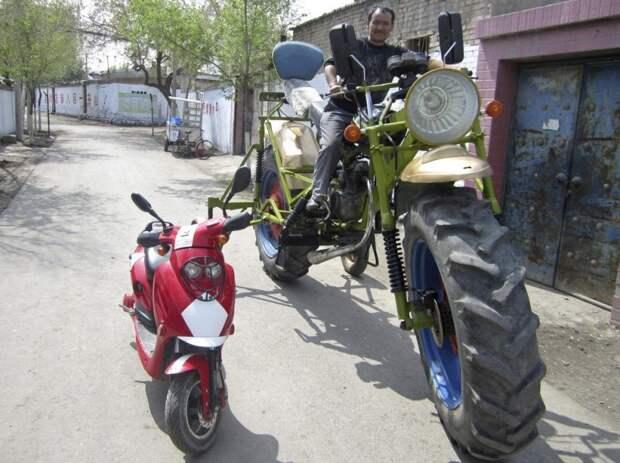 Самые необычные транспортные средства самоделка, транспорт