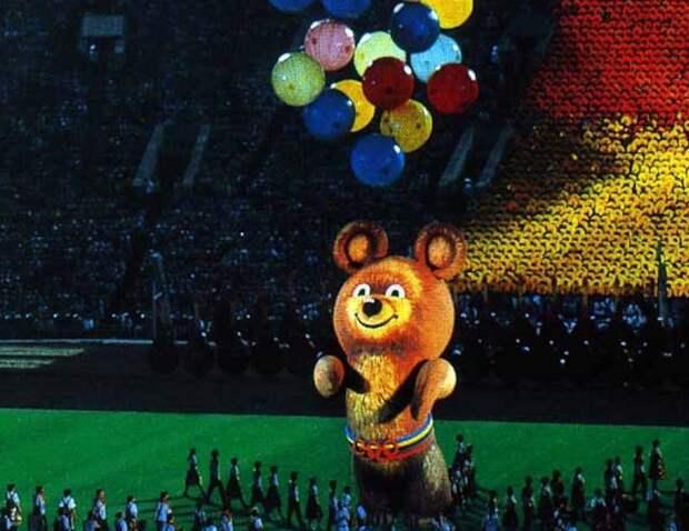 Как появился олимпийский мишка и куда он улетел в последний день Олимпиады-80