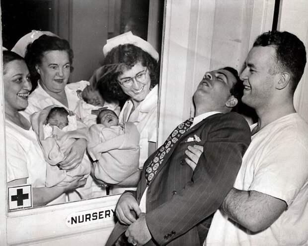 Отец тройняшек. Нью-Йорк, 1946 год