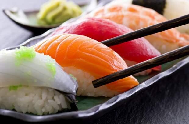 10. Суши аминокислоты, вред, еда, здоровые, мифы, польза, холестерин