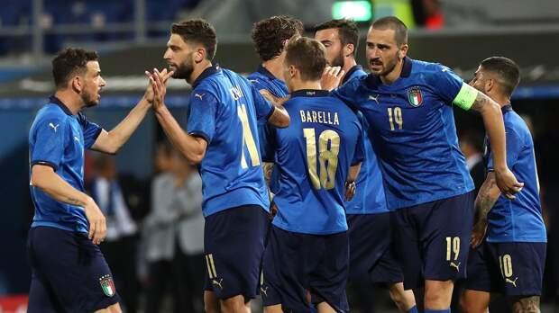 Сборная Италии разгромила Чехию. Спартаковец Крал отыграл весь матч