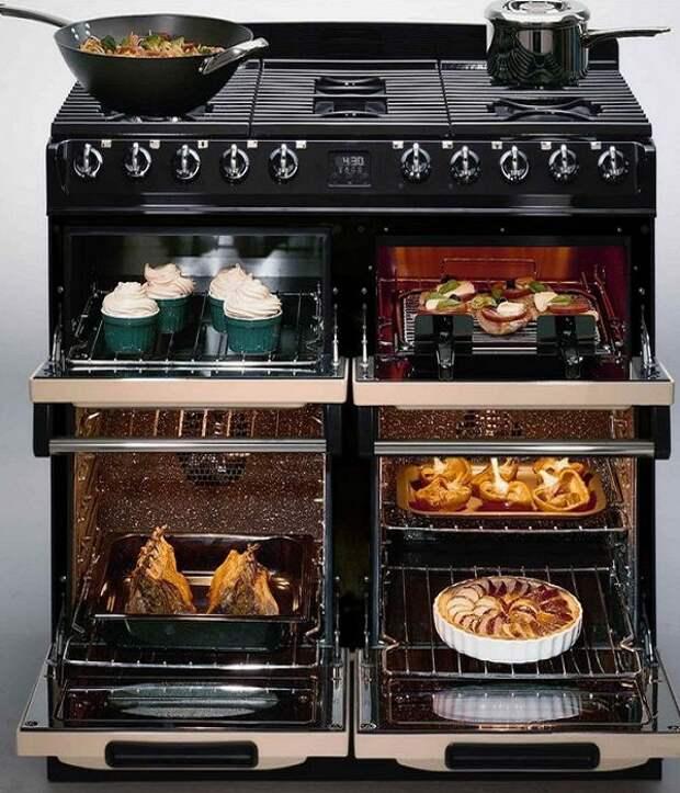 Для маленьких кухонь лучше выбирать многофункциональную бытовую технику. | Фото: gidkuhni.ru.