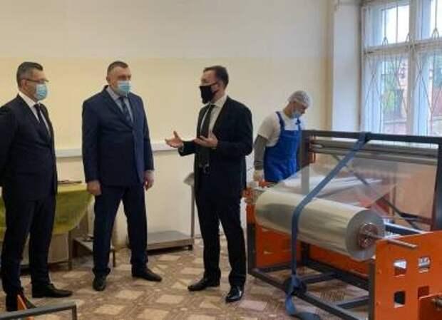 В Орловской области открылся завод по производству упаковки