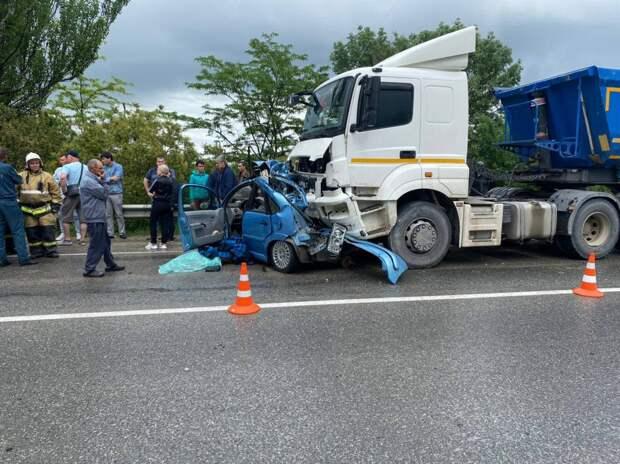 Двое людей погибли в ДТП в Белогорском районе