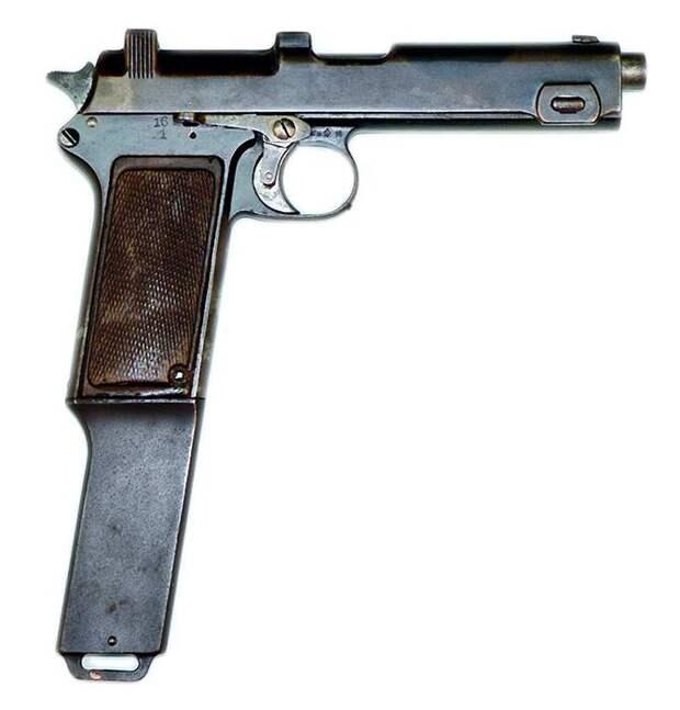 Всё для гангстеров. Пистолет Лебмана
