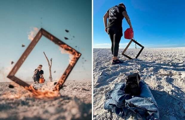 Мексиканский фотограф Омахи показал непримечательное закулисье красивых снимков