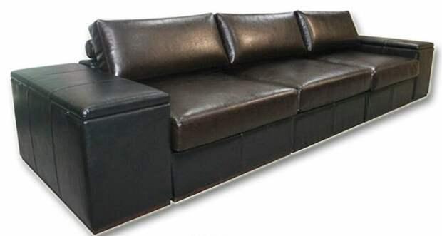 Подлокотники дивана с необычным функционалом