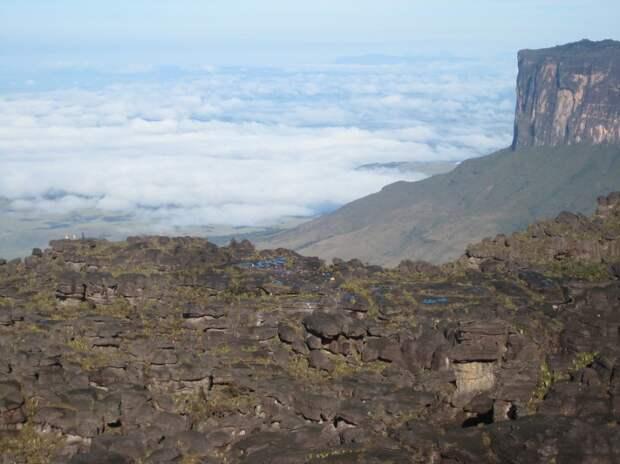 На плато Рорайма. Фото