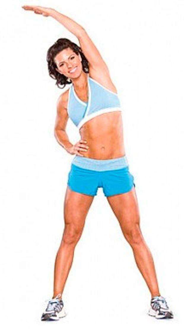Стретчинг упражнения рука вверх