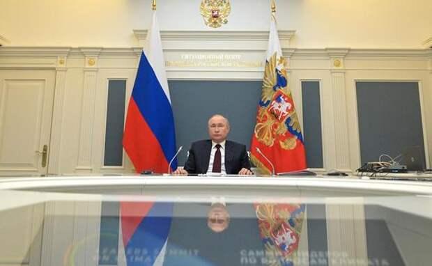 Владимир Путин подписал указ о мерах воздействия на недружественные действия других стран