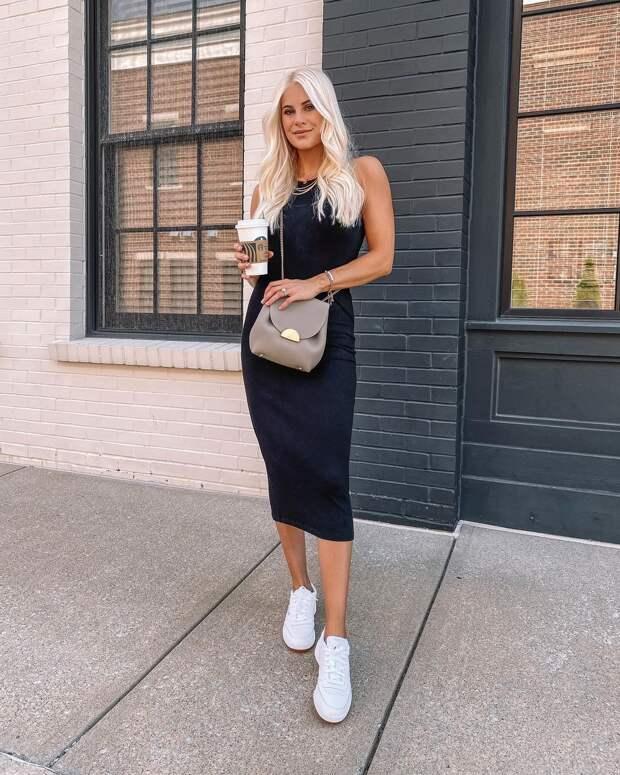 Как стильно носить платья в стиле casual летом: 12 соблазнительных примеров