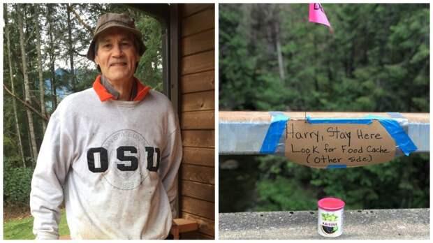 69-летний американец выжил спустя 17 дней в диком лесу
