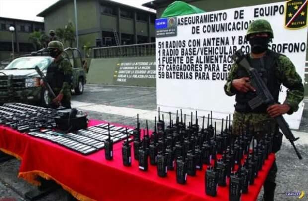 Как Los Zetas свою сотовую сеть построили
