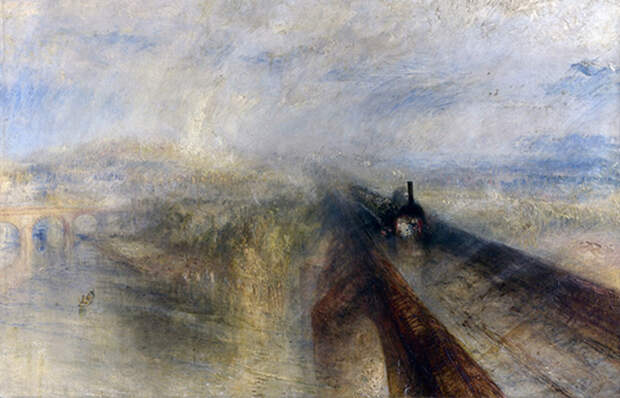 Какую пронзительную историю скрыл на картине «Дождь, пар и скорость» английский мастер пейзажей Уиль