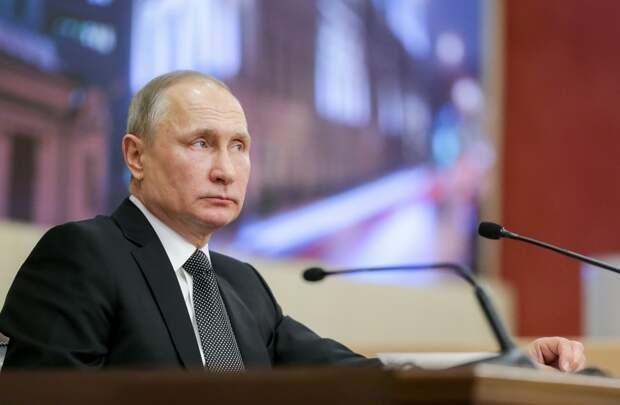 Путин прокомментировал эскалацию палестино-израильского конфликта