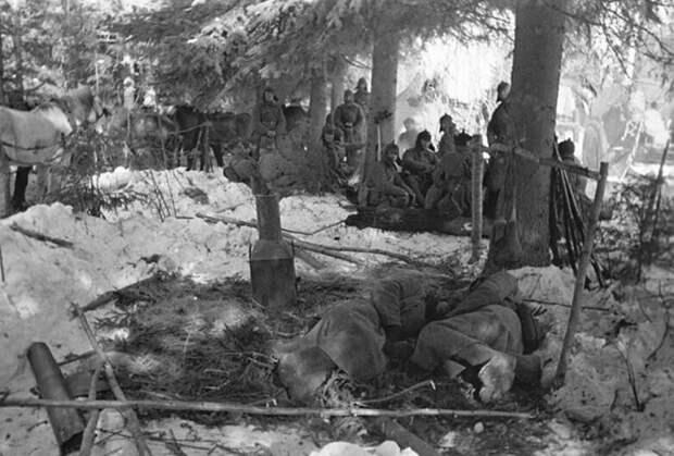 Как, ночуя на снегу, выживали бойцы Красной армии?