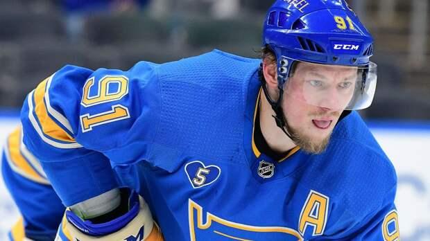 Тарасенко может пропустить первый матч плей-офф НХЛ против «Колорадо»