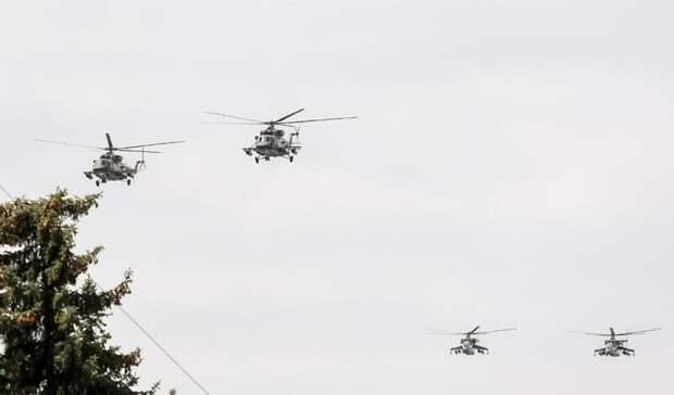 ВДень Победы вПятигорске над военным парадом пролетят боевые вертолеты