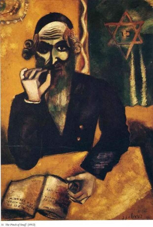 Марк Шагал, «Понюшка табака», 1912 г.