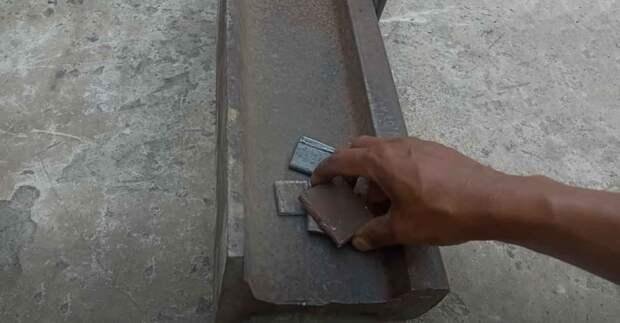 Как согнуть полосу металла «на ребро» — чтобы сделать из заготовки плоское кольцо
