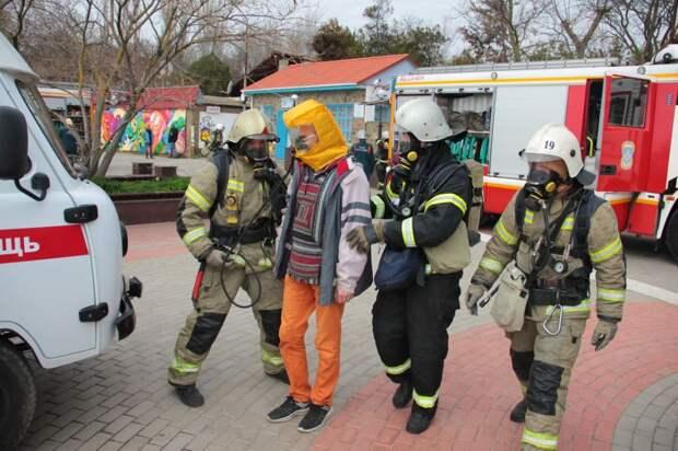 В Доме-музее М.А. Волошина прошли масштабные учения по пожаротушению