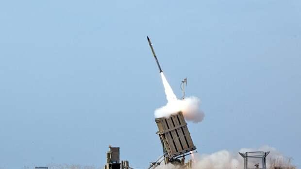 Израильской системе ПРО «Железный купол» удается сбивать 85% палестинских ракет