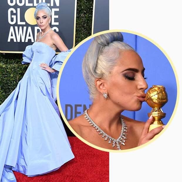 Леди Гага в драгоценностях Tiffany & Co.