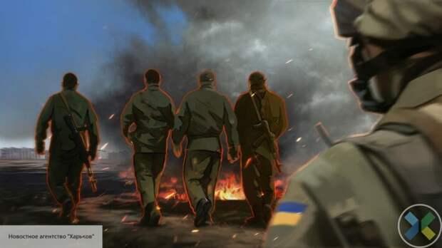 ВСУ на передовой устроили бунт и избили офицера из-за просроченных продуктов