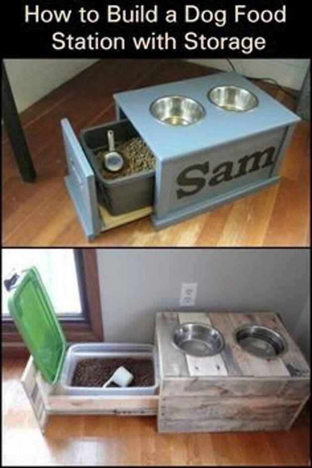 Столовые для домашних собак