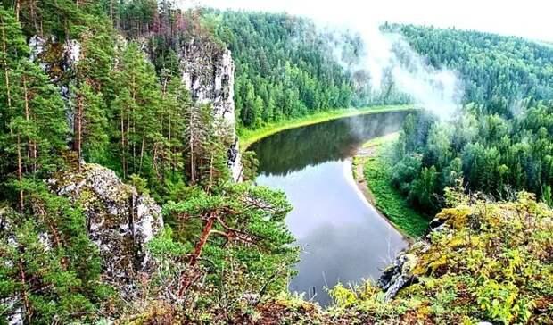 Появилась электронная карта природного парка «Река Чусовая»