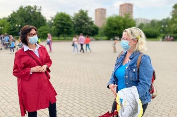 Доктор Елена Кац призвала увеличить количество зон отдыха в ВАО