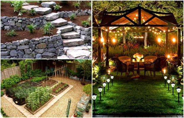 Отличные идеи, которые помогут грамотно оформить свой сад.