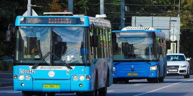 У проходящего через Головинский автобуса увеличится число рейсов