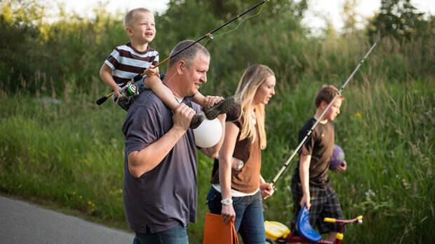 Рыбалка - это отдых и удовольствие для всей семьи