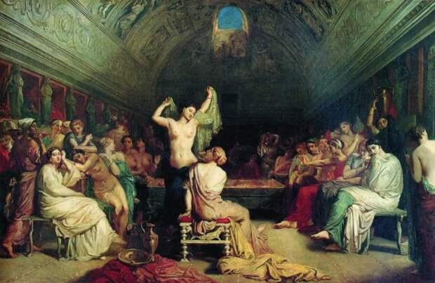 В римской бане.| Фото: vsdn.ru.