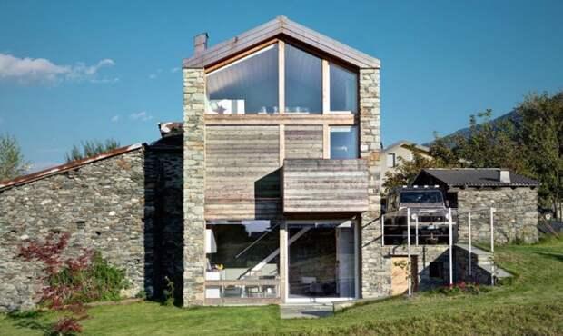 Проект реконструкции дома итальянским архитектором Rocco Borromini.
