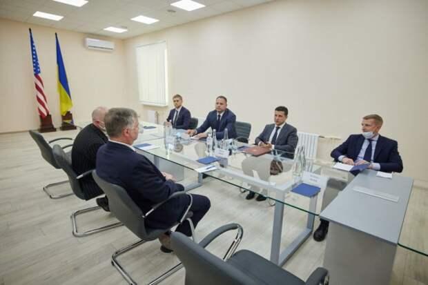 Зеленский встретился с заместителем госсекретаря США