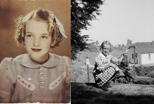 Редкие детские фотографии будущей звезды Голливуда.