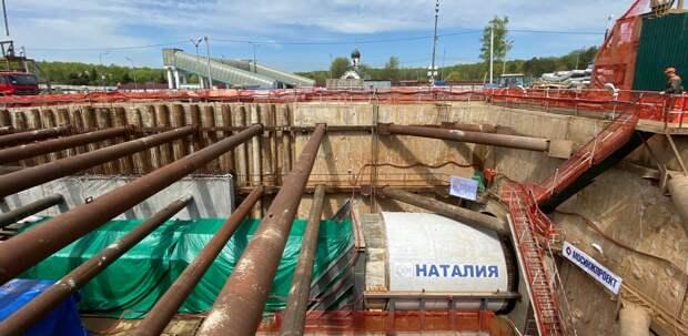 Собянин: стартовала проходка правого тоннеля между станциями метро «Пыхтино» и «Рассказовка»